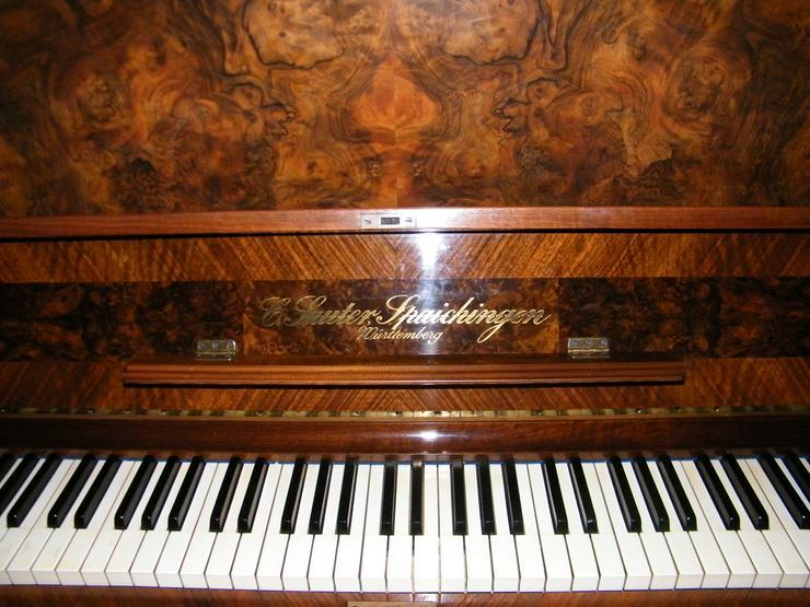 verkaufe Klavier aus der Manufaktur C. Sauter Spaichingen - Klaviere & Pianos - Bild 1