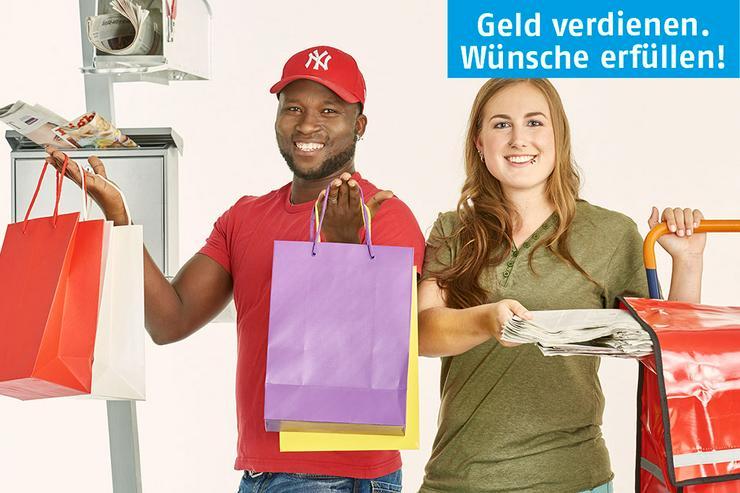 Job, Nebenjob, Minijob: Zeitung austragen und Briefe zustellen in Dettelbach