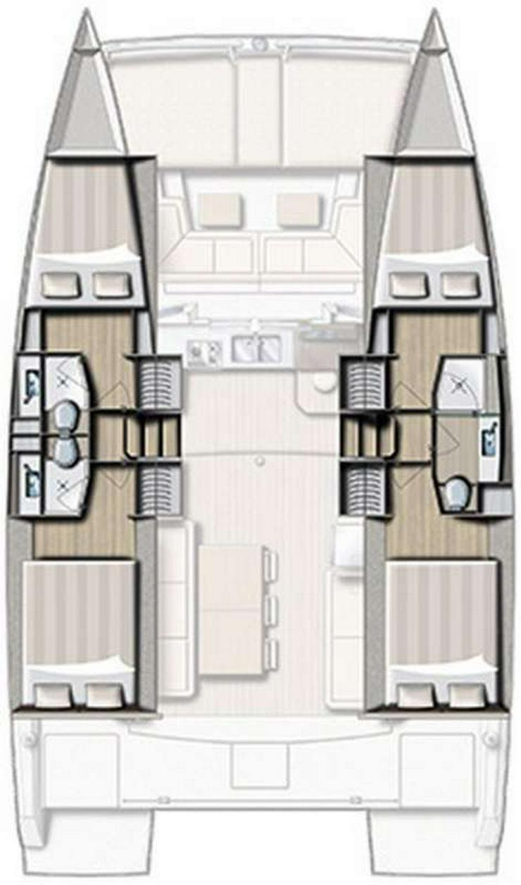 Bild 2: Yachtcharter Bali 4.0 - Kroatien - Dubrovnik, Split, Sibenik, Zadar