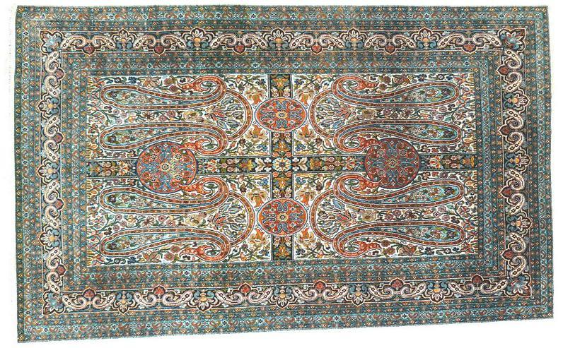 Orientteppich Seide auf Seide superfein 158x94 TOP (T011)
