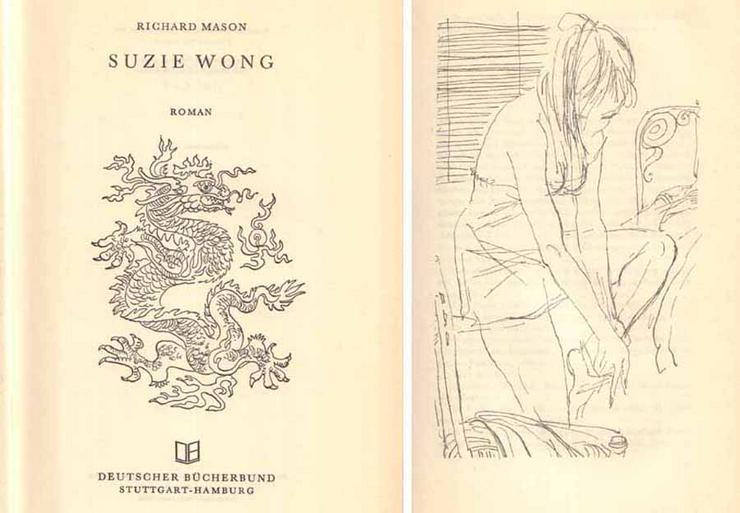Bild 2: Buch von Richard Mason - Suzie Wong - ein Roman
