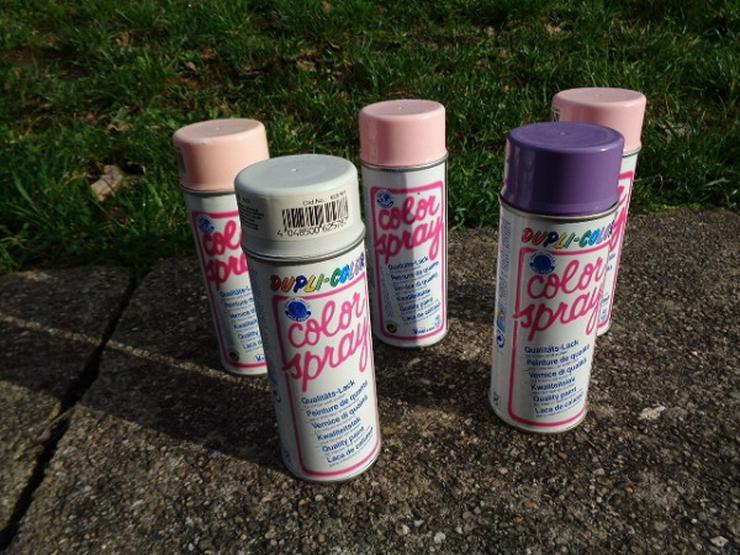 5 Dosen Dupli Color Spray Ungeöffnet Unbenutzt Neu