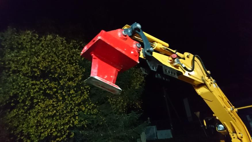 Bild 3: NEU !! Baumstumpf entfernen ohne Dreck, Staub und Lärm  (1 cm = 1 Euro) ~~ MINIBAGGER-SPEZI ~~ Biebergemünd