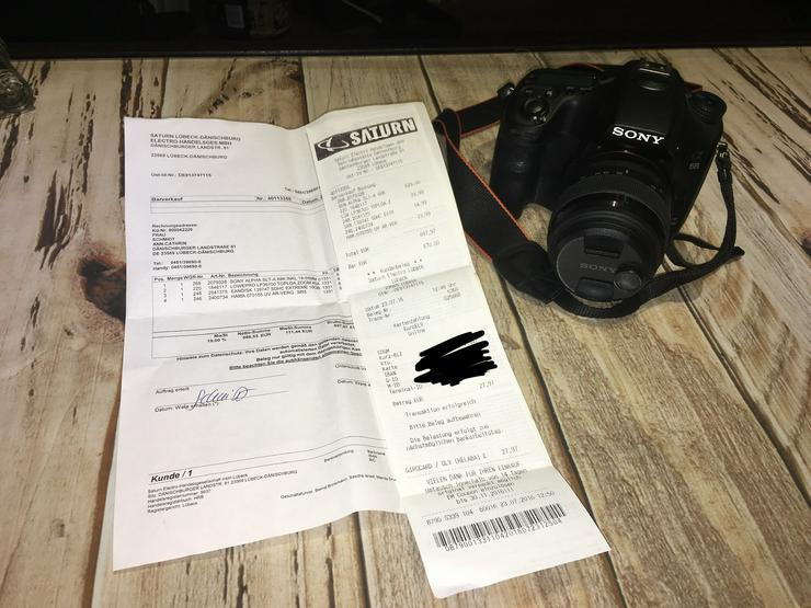 Bild 5: SONY ALPHA SLT-A 68K inkl. 18-55 mm Objektiv