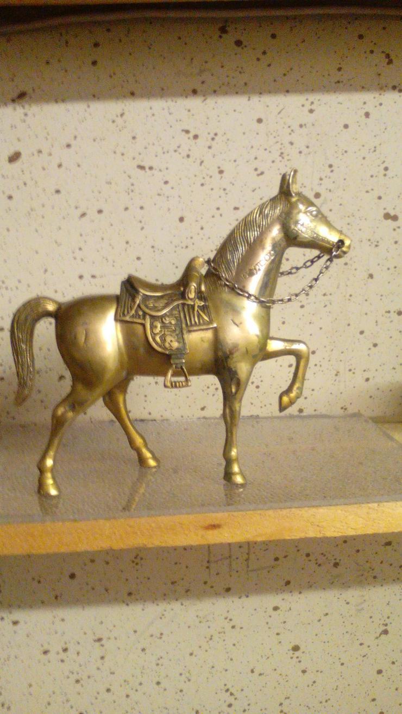 Messing Ferd Kamin Dekoration - Figuren - Bild 1