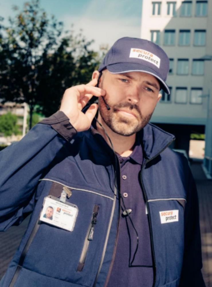 Sicherheitsmitarbeiter m/w für Polizeiliegenschaft