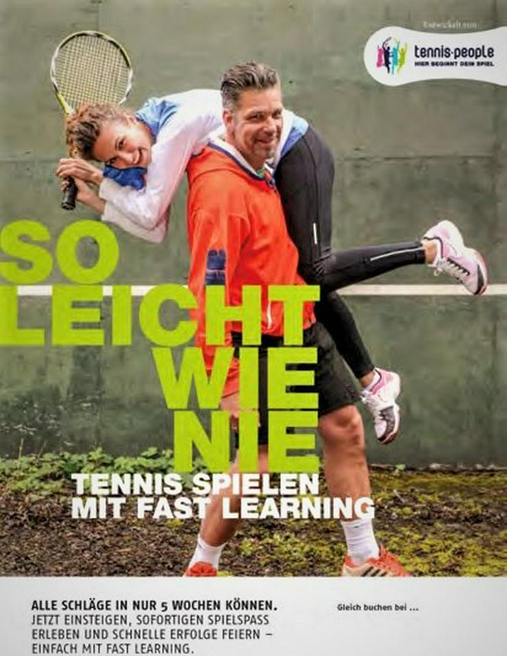 Tennis einfach lernen mit Fast Learning - Sport, Outdoor & Tanz - Bild 1