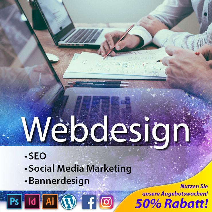 Webdesign & Co. >>> Webseite • Homepage • Angebotswochen!