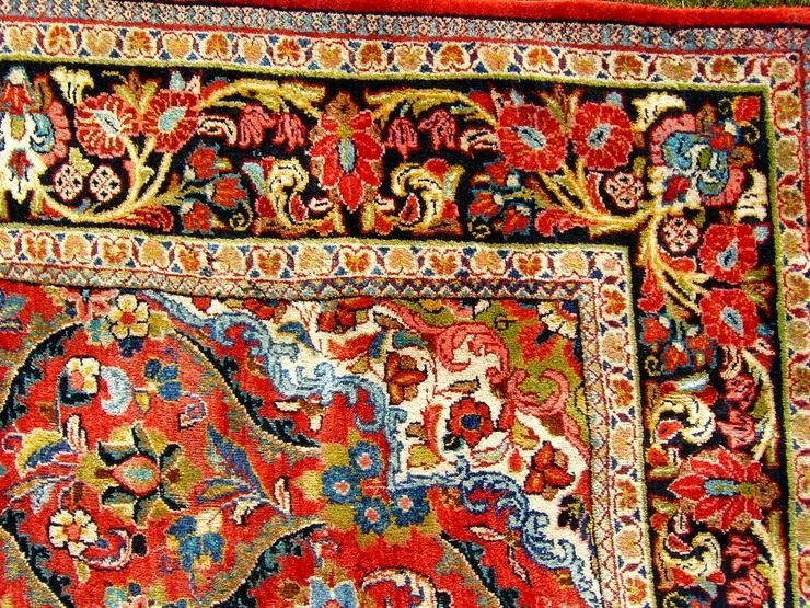 Bild 6: Orientteppich Saruk-Mahal von ca. 1900 (T082)