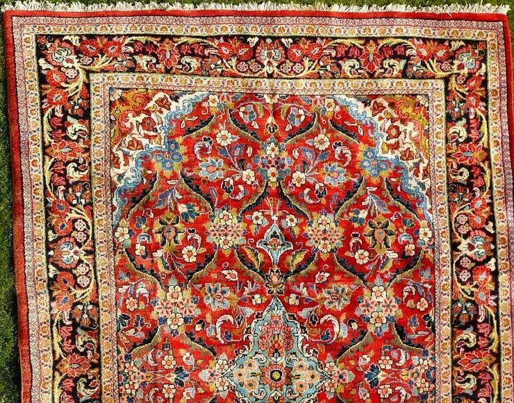 Bild 2: Orientteppich Saruk-Mahal von ca. 1900 (T082)