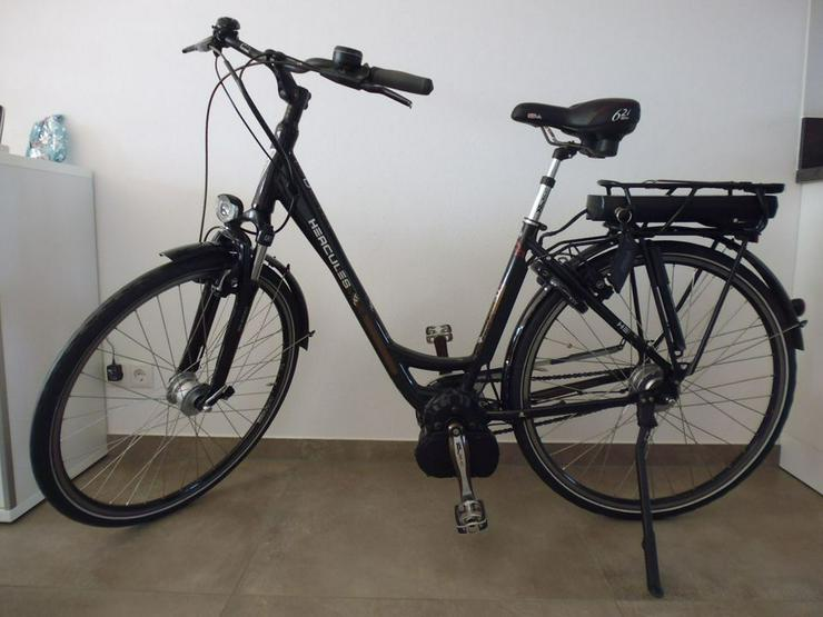 Bild 5: E-Bike  EBike Elektrofahrrad Herkules Roberta 8 neuwertig