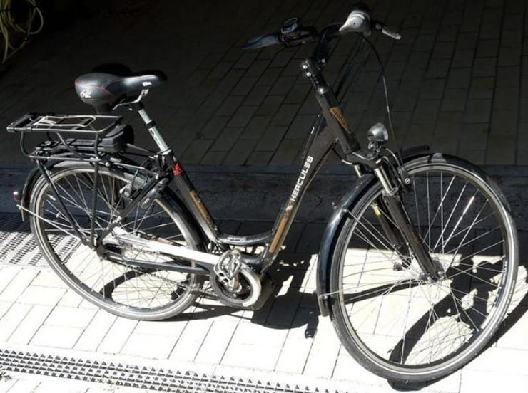 Bild 3: E-Bike  EBike Elektrofahrrad Herkules Roberta 8 neuwertig