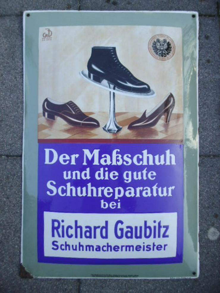 Emailschild Emailleschilder Reklameschilder - Aufkleber, Schilder & Sammelbilder - Bild 1