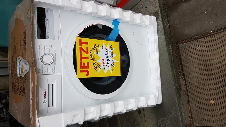 Bosch Waschmaschine NEU