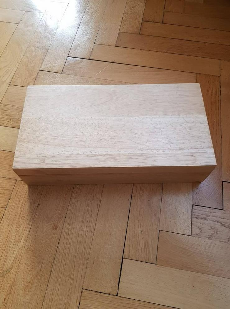 Bild 3: Teebox aus Holz