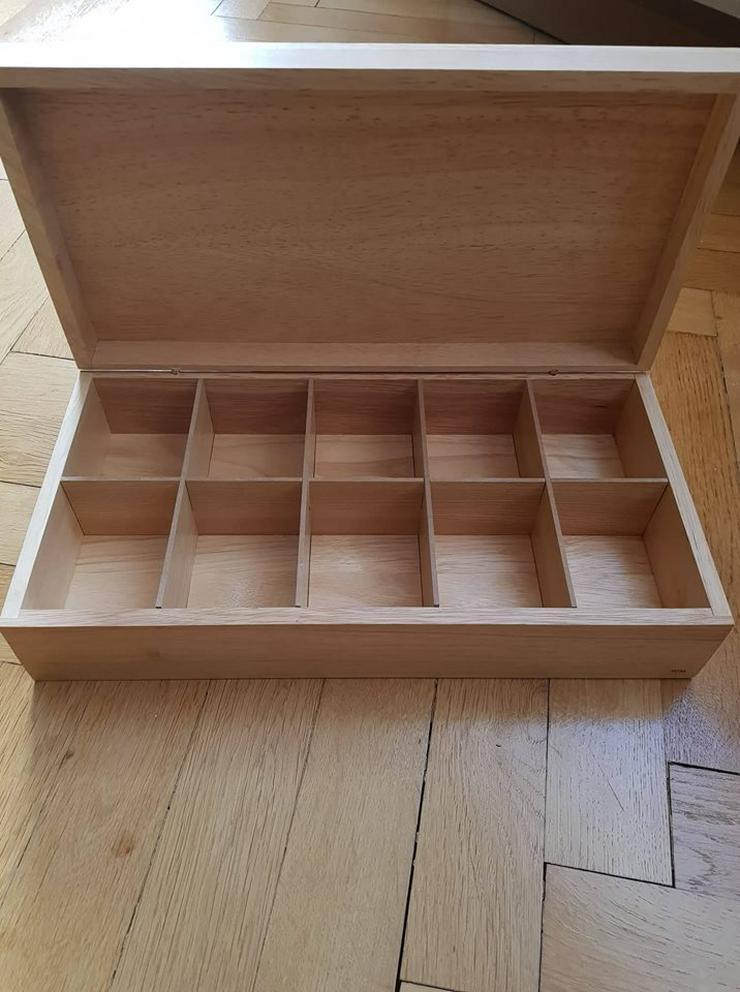 Bild 2: Teebox aus Holz