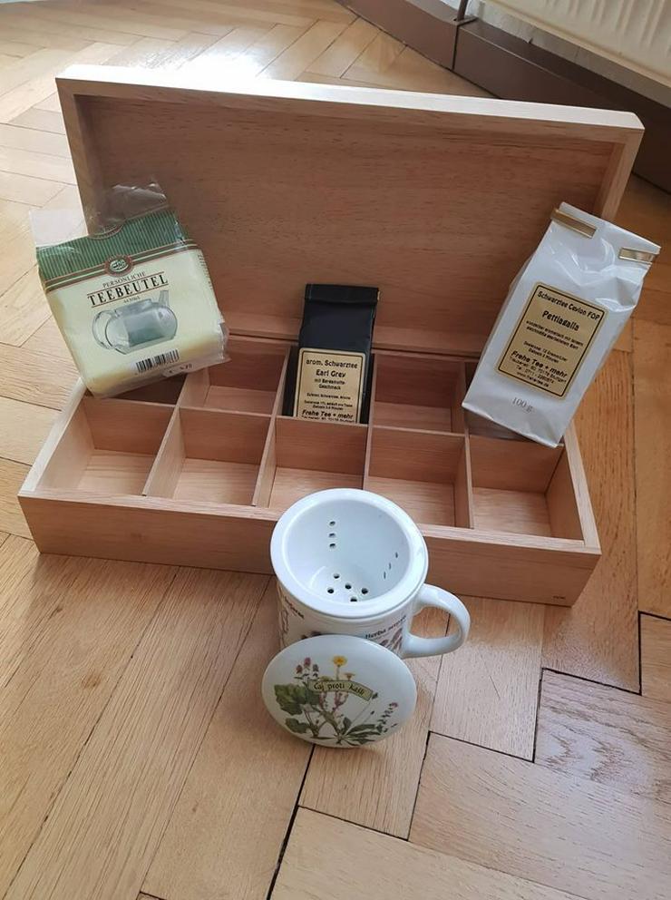 Teebox aus Holz - Vorratsdosen - Bild 1