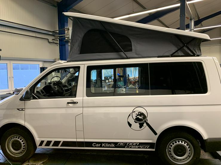 Bild 2: Volkswagen T6 mit Car Klinik Action Camp Ausbau u.Aufstelldach