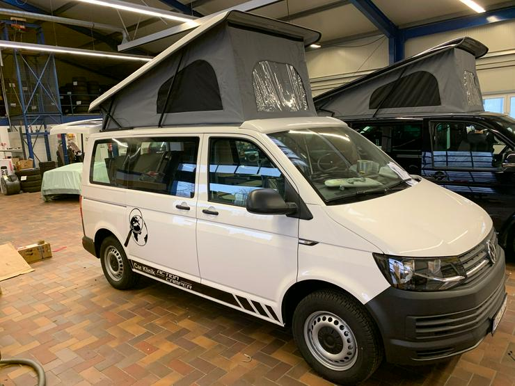 Volkswagen T6 mit Car Klinik Action Camp Ausbau u.Aufstelldach - Wohnmobile & Campingbusse - Bild 1