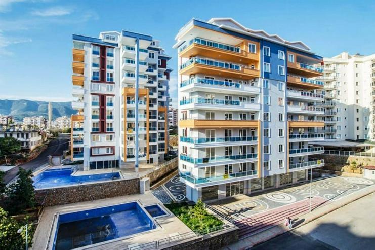 Türkei, Alanya, 2 Zi. Luxus Wohnung, möbliert, Pool, Hallenbad, zentrale Lage, ca. 750 m zum Strand, 315
