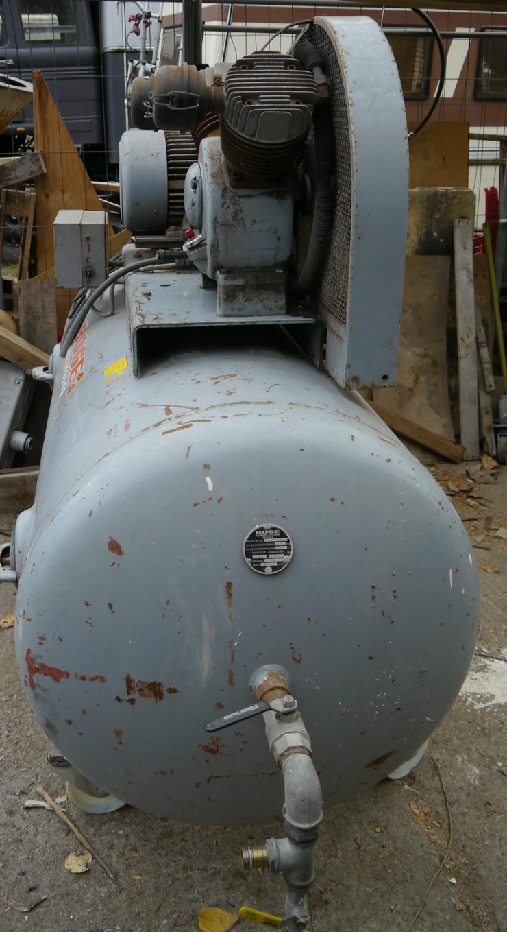 Kompressor Druckluft Booge 1000liter 10bar Drehstrom