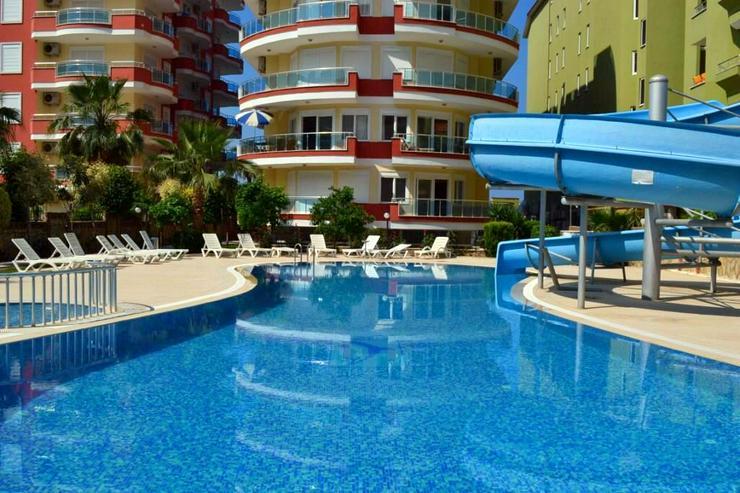 Türkei, Alanya, möblierte 3 Zi. Wohnung, direkt am Meer, Lift, Sauna, Fitneß, Pool, Internet, behindertenfreundlich, 314