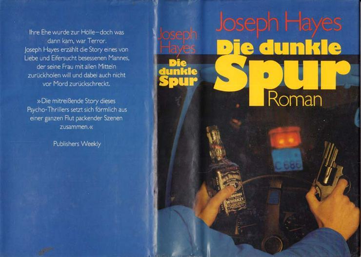Buch von Joseph Hayes - Die dunkle Spur - ein Roman - 1982 - Romane, Biografien, Sagen usw. - Bild 1