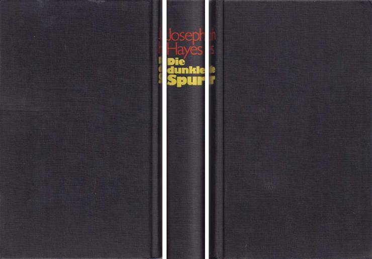 Bild 2: Buch von Joseph Hayes - Die dunkle Spur - ein Roman - 1982