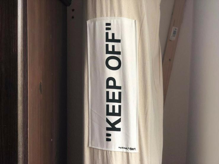 Bild 2: Off-White x IKEA Keep Off TeppichRug  Designer Virgil Abloh 200 x 300