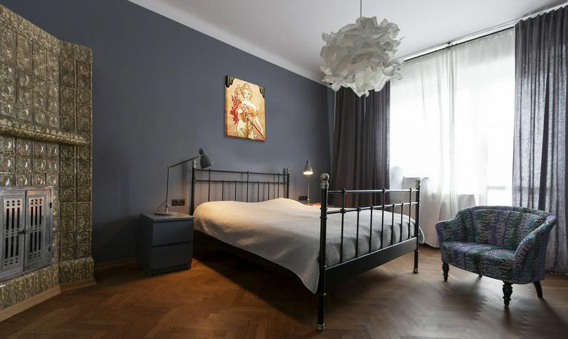 """Bild 3:  Bild kopieren von """"Bouquet"""" Alfons Mucha 40x50cm"""