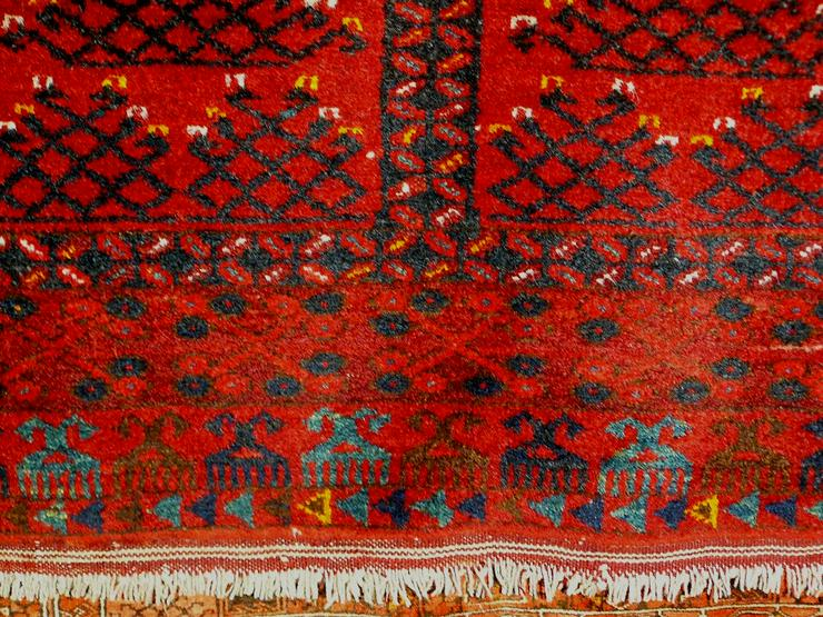 Bild 4: Orientteppich, Ersari, 60 J. alt 155x113 (T079)