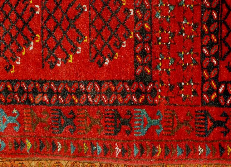 Bild 5: Orientteppich, Ersari, 60 J. alt 155x113 (T079)