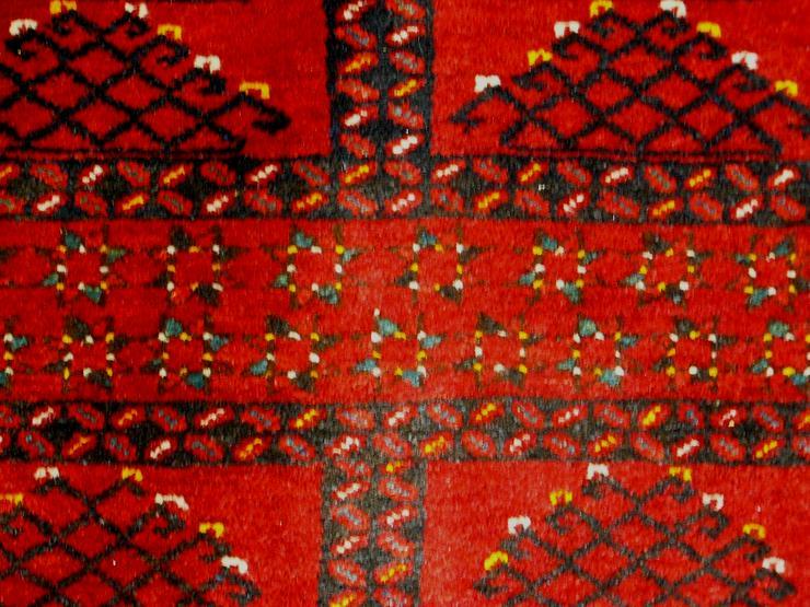 Bild 3: Orientteppich, Ersari, 60 J. alt 155x113 (T079)