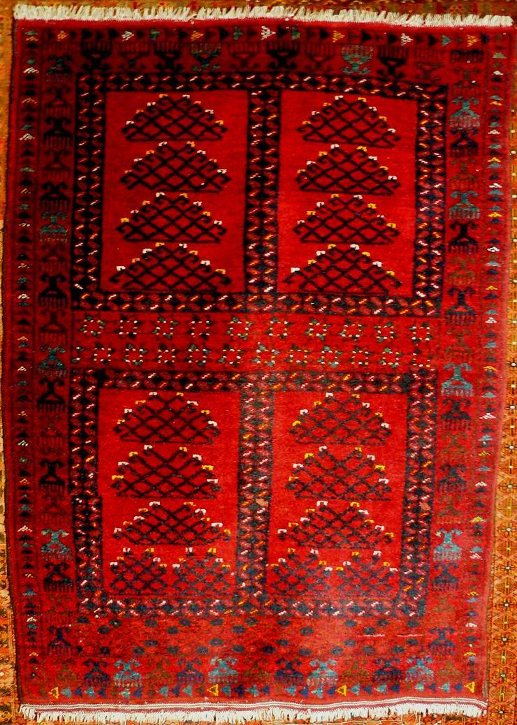 Orientteppich, Ersari, 60 J. alt 155x113 (T079) - Fliesen & Teppiche - Bild 1