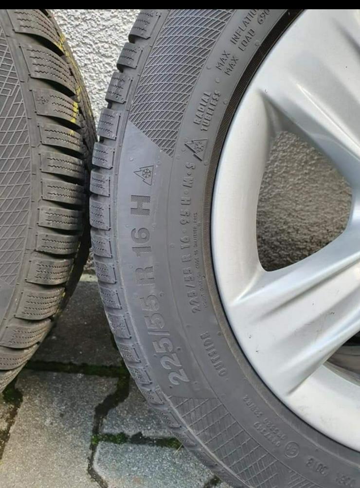 BMW Winterreifen auf Alufelgen