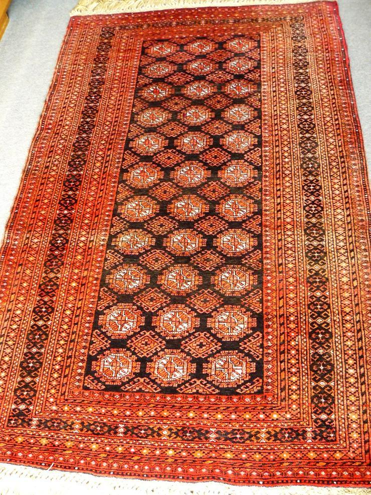 Bild 2: Orientteppich Turkestan alt 185x111 (T039)