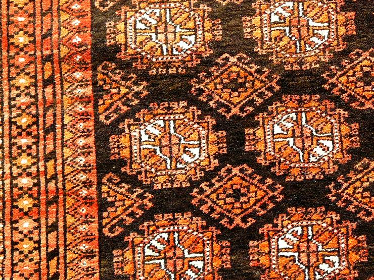 Bild 4: Orientteppich Turkestan alt 185x111 (T039)