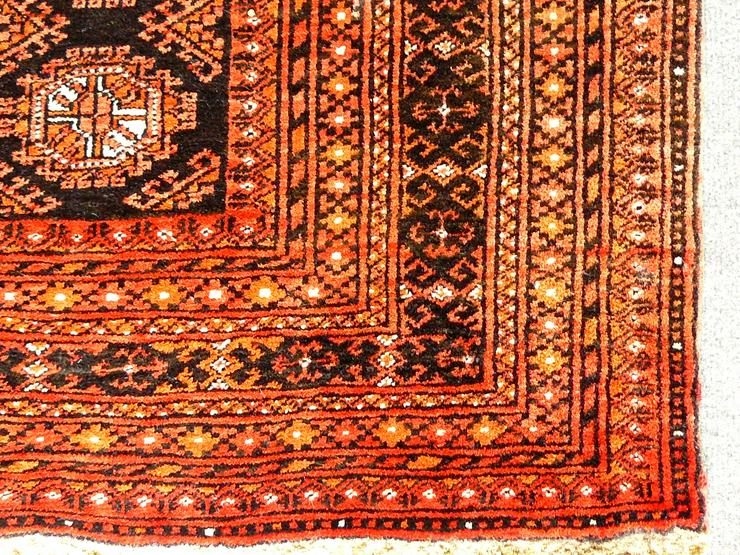Bild 3: Orientteppich Turkestan alt 185x111 (T039)
