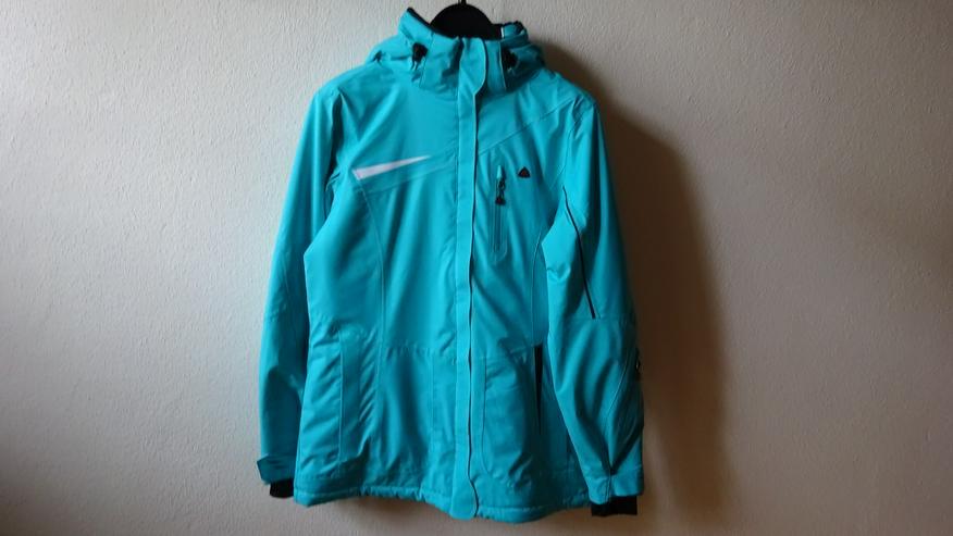 Maier Sports Damen-Skijacke, Größe 40, Farbe türkisblau – NEU