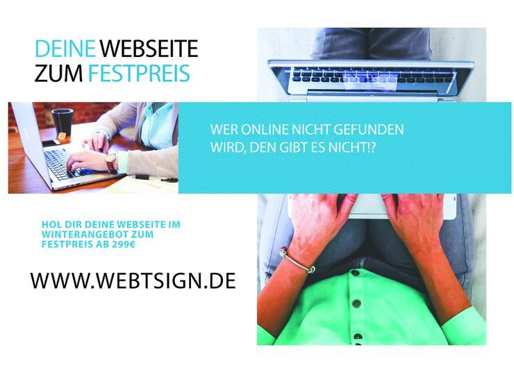 Homepage erstellen lassen zum Festpreis