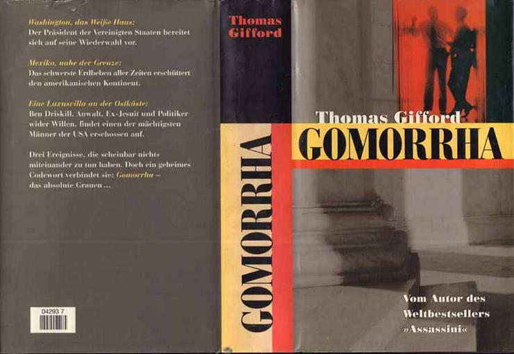 Bild 1: Buch von Thomas Gifford - Gomorrha - ein Roman - 1997