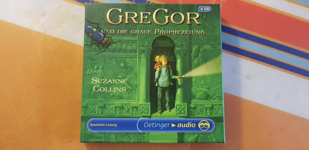 Bild 2: Hörspiel 4 CD Box GreGor und die Prophezeiung!!