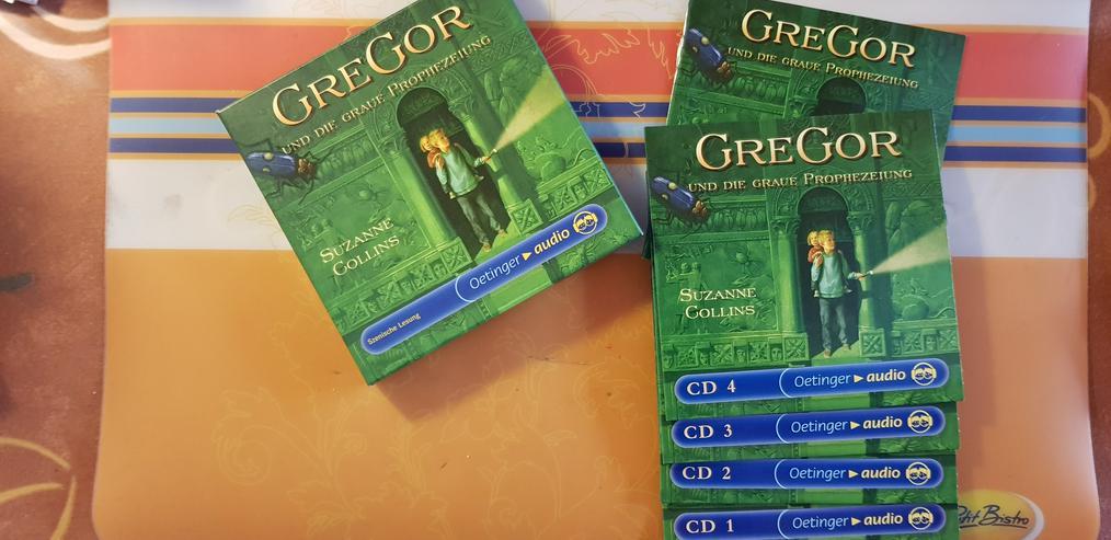 Hörspiel 4 CD Box GreGor und die Prophezeiung!!