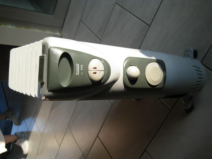 Bild 2: Einhell Elektro Heiz Radiator MR 920