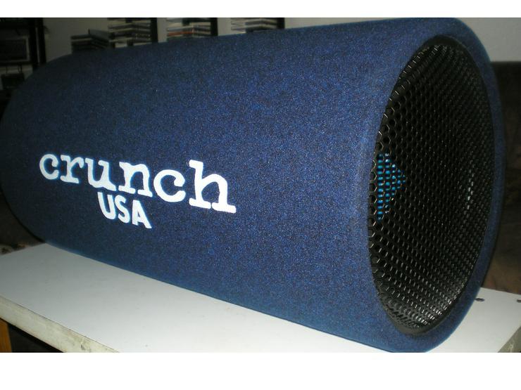 Chrunch Subwooferröhre, 800 Watt Kiste, 38er Einbau-LS