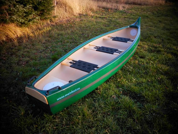 Neu ! Kanu 3er Heckspiegel - Kanadier 420 - Kanus, Ruderboote & Paddel - Bild 1