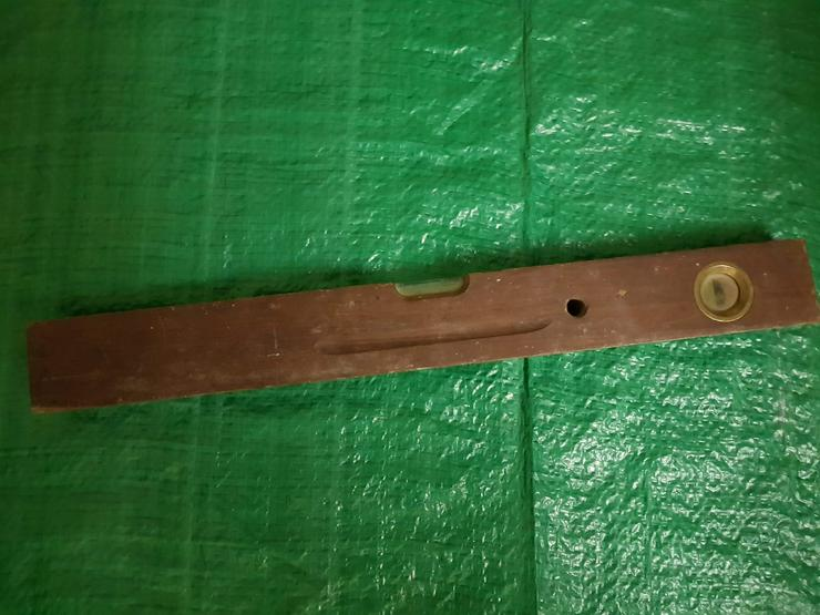Bild 2: Alte Wasserwaage Aus Holz Siehe Bilder!