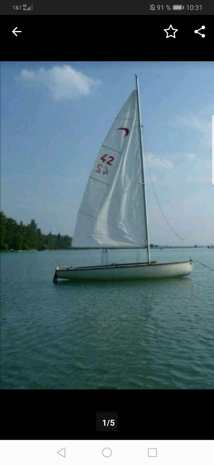 Segelboot Häfele 460