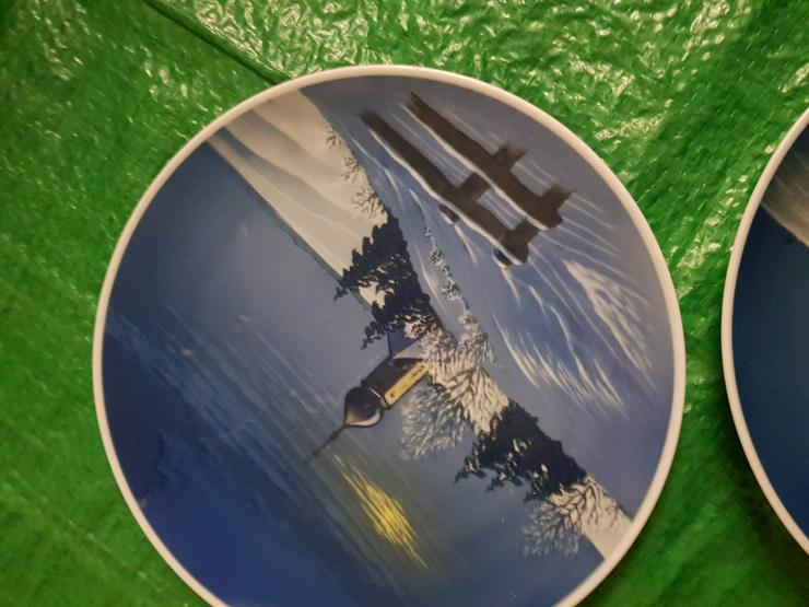 Bild 3: 2 Rosenthal Sammlerteller!!Weihnachten!!!!Siehe Bilder!!! Wandteller!!!