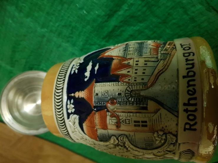 Bild 2: 2 Bierkrüger aus Rotenburg ob der Tauber Orginale !! Siehe Bilder